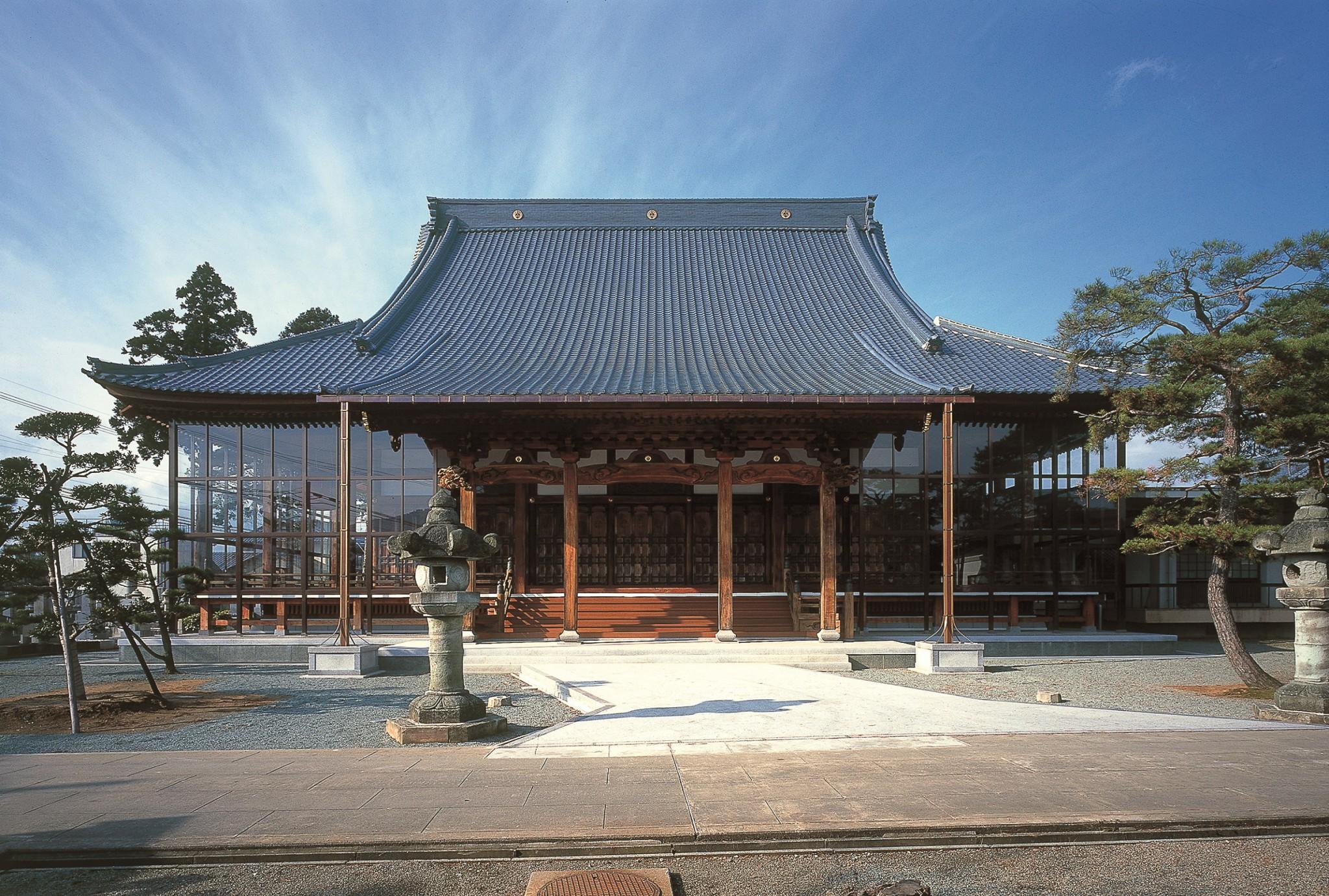 勝縁寺本堂修復